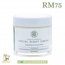 Virgin Coconut Facial Night Cream - Age Defender