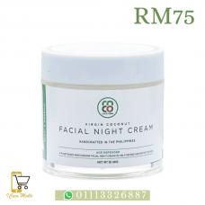 Virgin Coconut Facial Night Cream - Age Defender