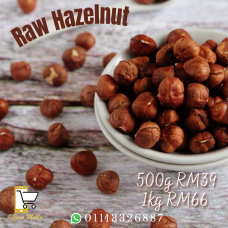 Raw Hazelnut (with skin)