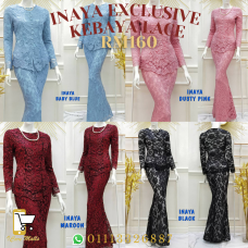 Inaya Exclusive Lace Kurung