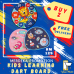 Kids Learning Dart Board