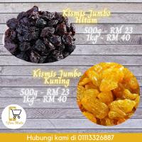 Kismis Jumbo Kuning & Hitam