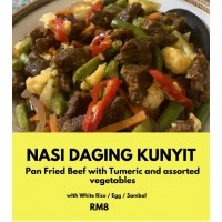 [Express Delivery Only] NASI DAGING KUNYIT