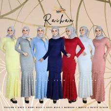 Raihan Exclusive Lace Kurung