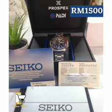 Seiko Padi Prospex Preloved