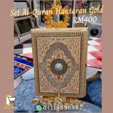 Set Al-Quran Hantaran Gold