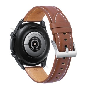 Stitch Leather Band Watch3