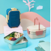 2 Layer Carrot Student Lunch Box