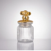 Transparent Jar with Animal Lid