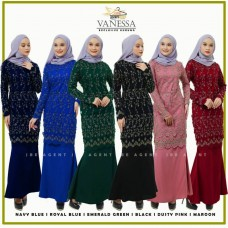 Vanessa Exclusive Kurung